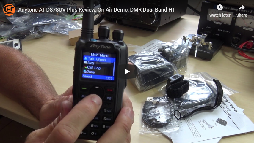 Ham Radio Concepts AnyTone 878 PLUS Review + Giveaway