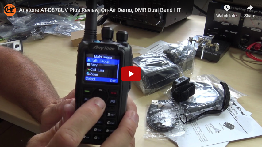 Eric, from Ham Radio Concepts, goes deep with his review of the AnyTone 878 PLUS!