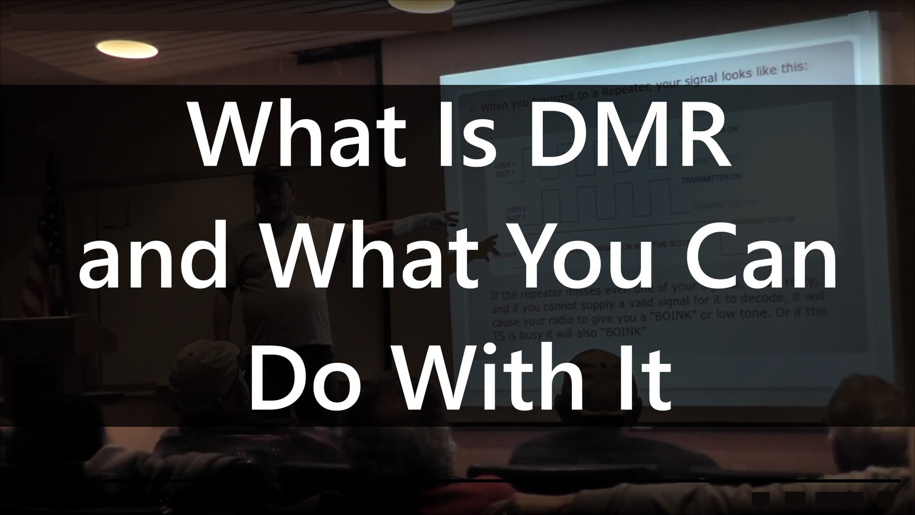 What is DMR and What it can do for you! (By Chuck Kraly KØXM)