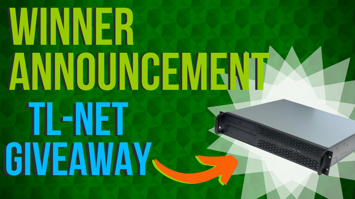 TL-NET MV-DMR Rack Mount Giveaway Winner Announcement