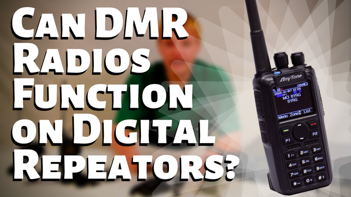 Can a DMR Radio Function on Digital Repeaters?