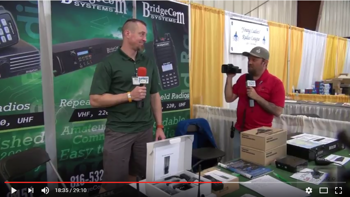 BridgeCom Interview with Jason from Ham Radio 2.0 at Hamcation