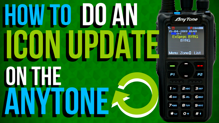 How to do an icon update on the AnyTone