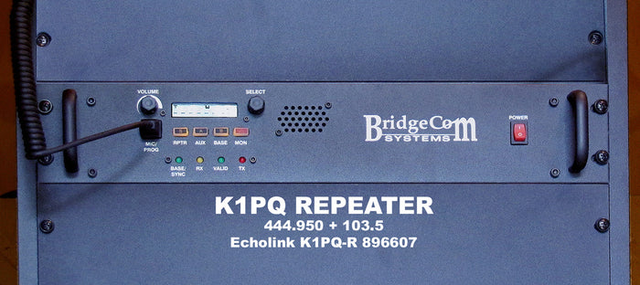 K1PQ Repeater 70cm Install and Club