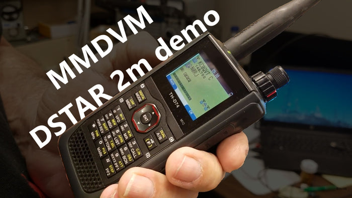 BCR Repeater MMDVM DSTAR 2m demo
