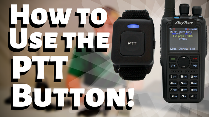 How to Use the PTT Button on an AnyTone AT-D878UV PLUS!