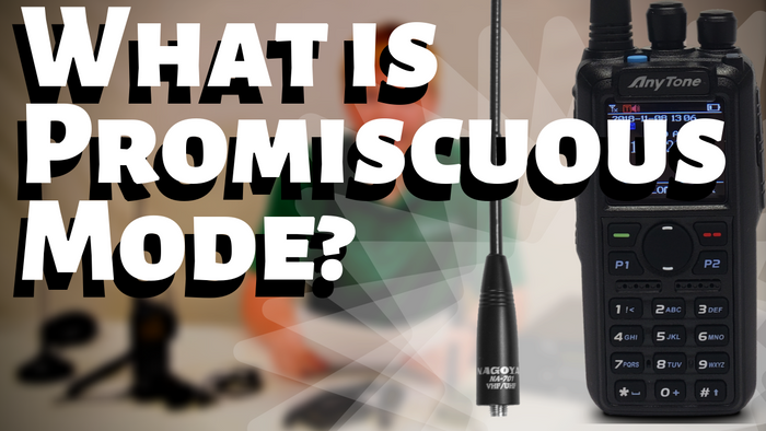 How Does Promiscuous Mode Work on an AnyTone DMR Handheld(878/868)?