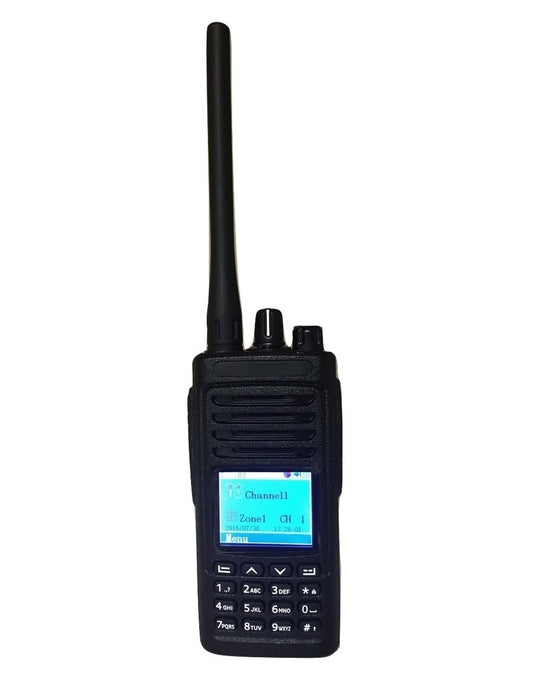 BridgeCom Systems D-500 70 cm DMR and Analog Handheld Transceiver by QST