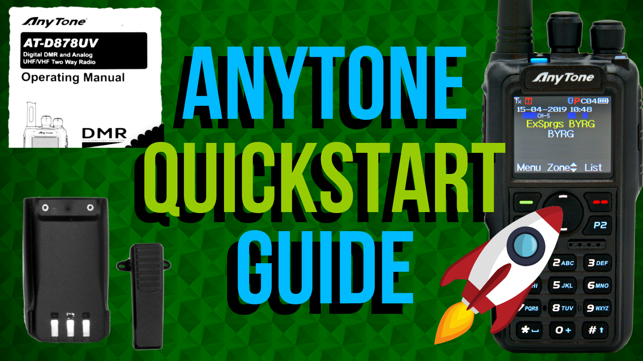 AnyTone QuickStart Guide
