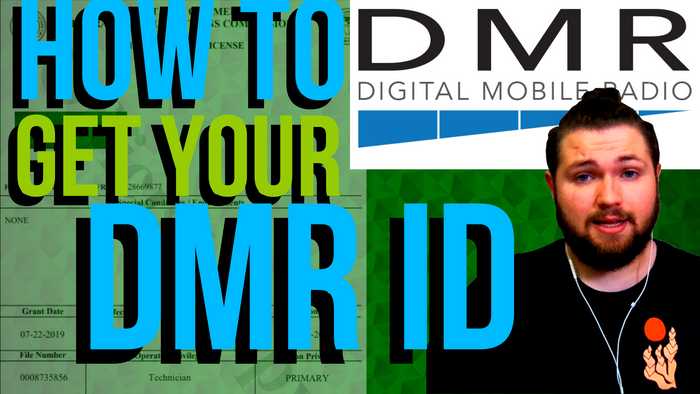 How to get your DMR ID