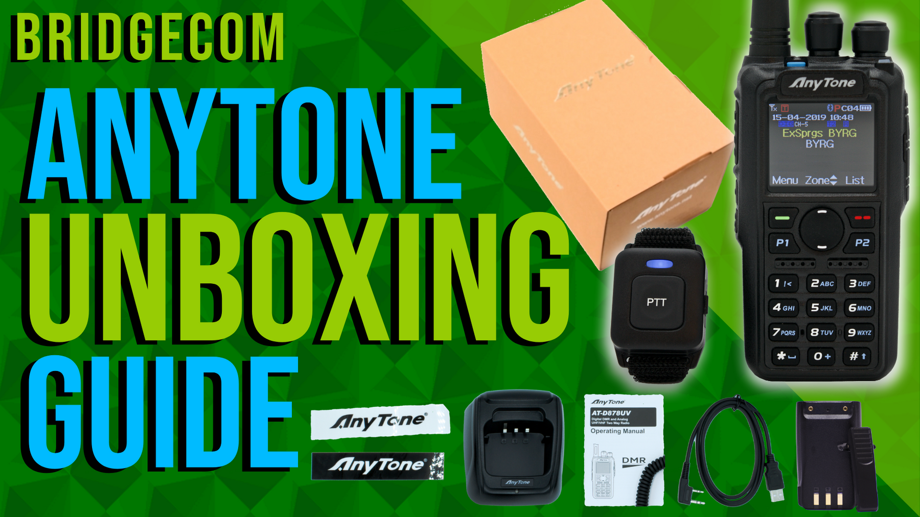 AnyTone Unboxing Guide