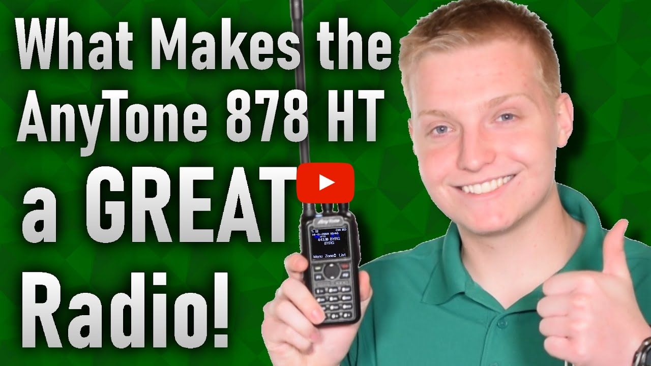 Why you should choose the AnyTone 878 Handheld