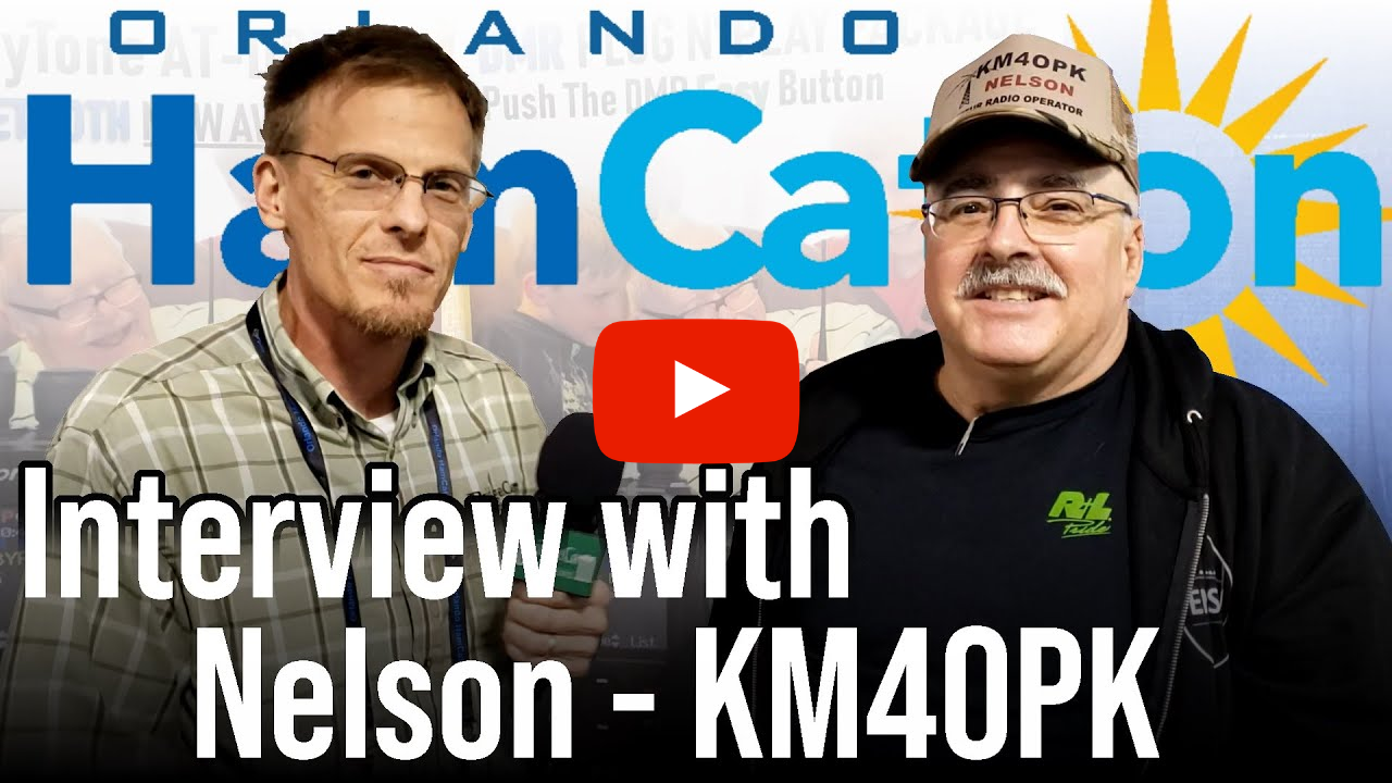 Orlando HamCation 2020 Interview with Nelson (KM4OPK)