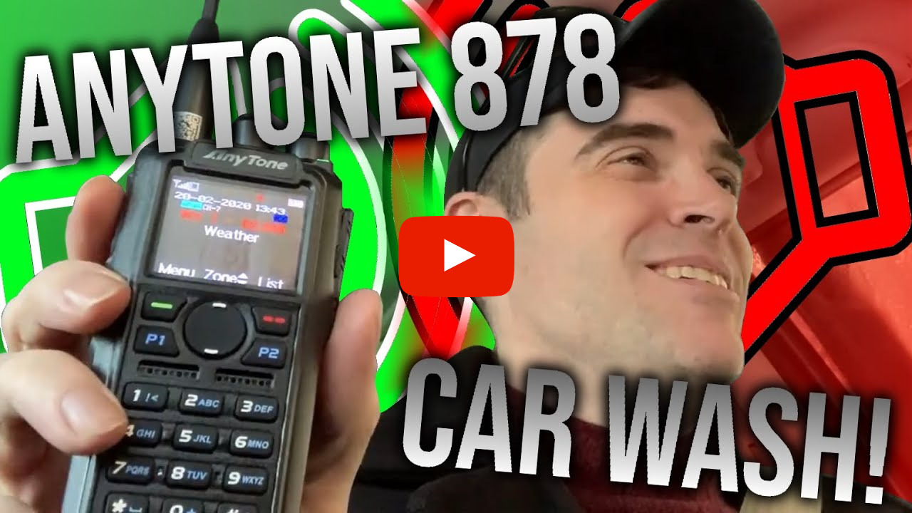 Matt Mason, N2ZQO, reviews his AnyTone 878