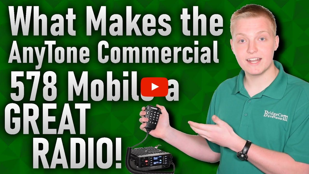 Benefits of the AnyTone AT-D578UV PRO Commercial Radio