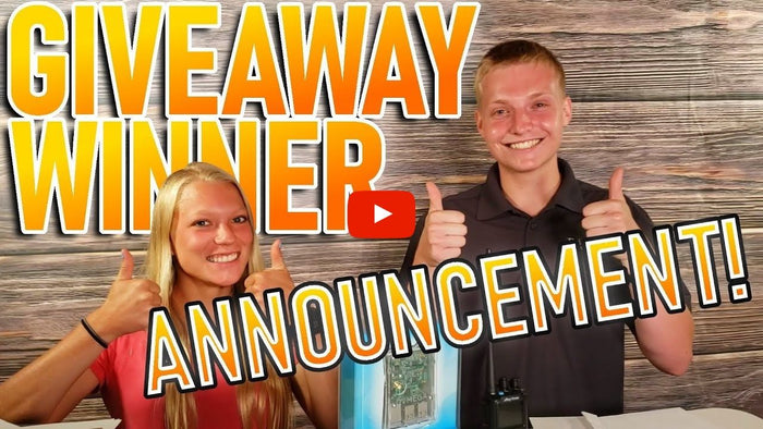 June 878 PnP Package Giveaway Winner Announcement