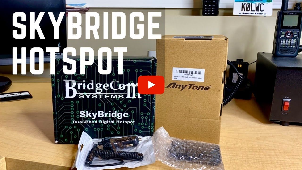 YouTuber, KØLWC, Unboxes and Reviews the New BridgeCom SkyBridge Hotspot