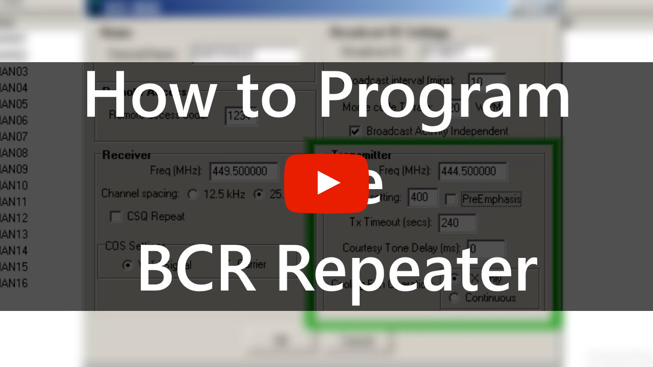 Your Guide to Repeater Programming