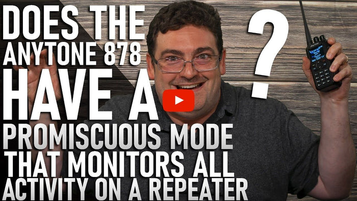 Do AnyTone HTs have Promiscuous Mode Repeater Monitoring?