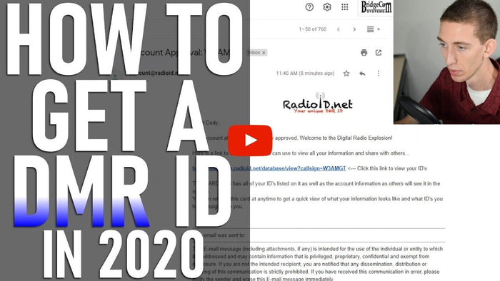 How to get a DMR ID in 2020