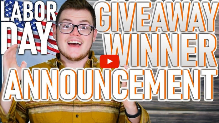 Labor Day 2020 Giveaway Winner Announcement