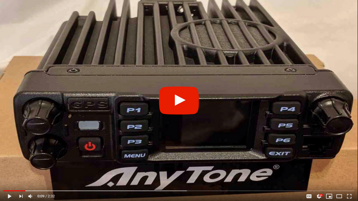 First Look at the AnyTone 578 Mobile
