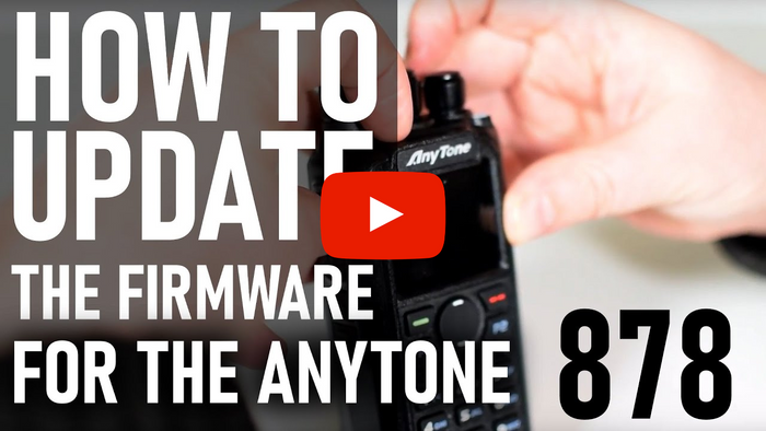 How to Update the Firmware for the AnyTone 878