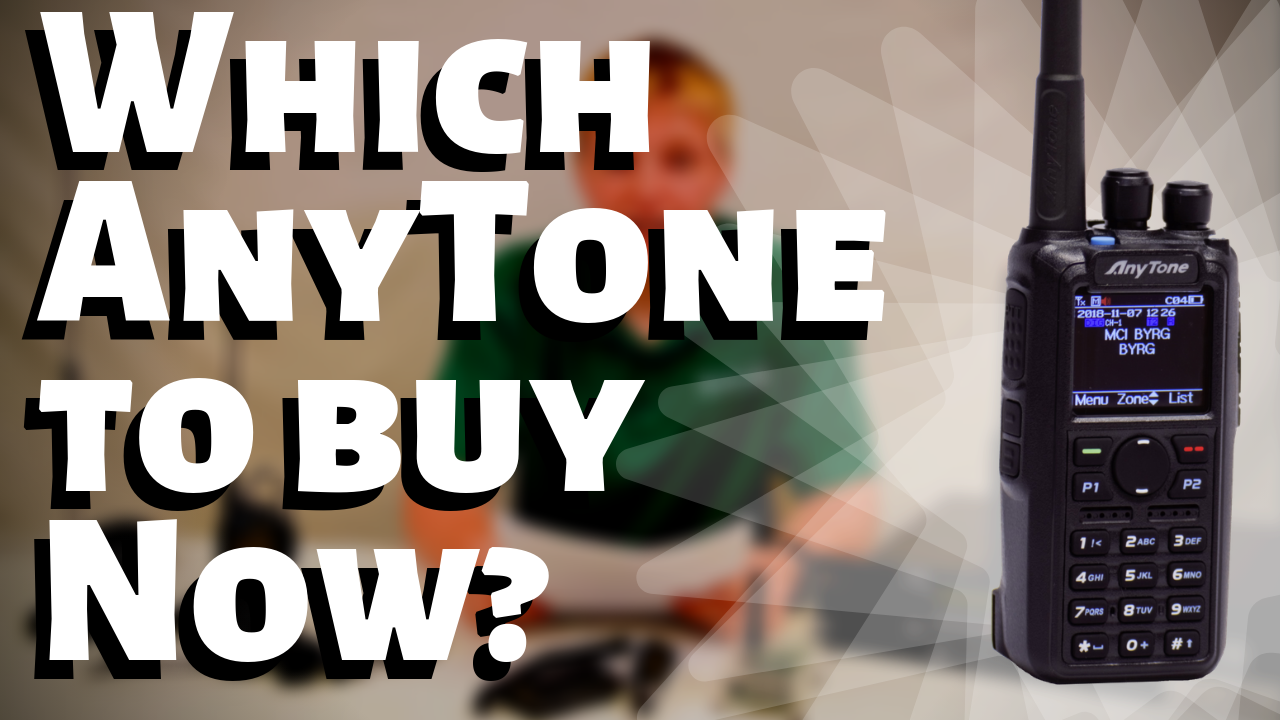 Which AnyTone DMR Handheld Radio Should You Buy?
