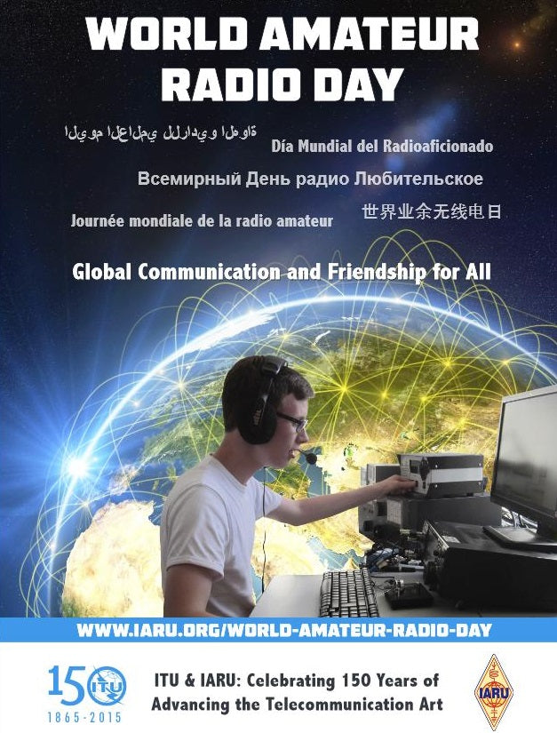 World Amateur Radio Day is approaching!