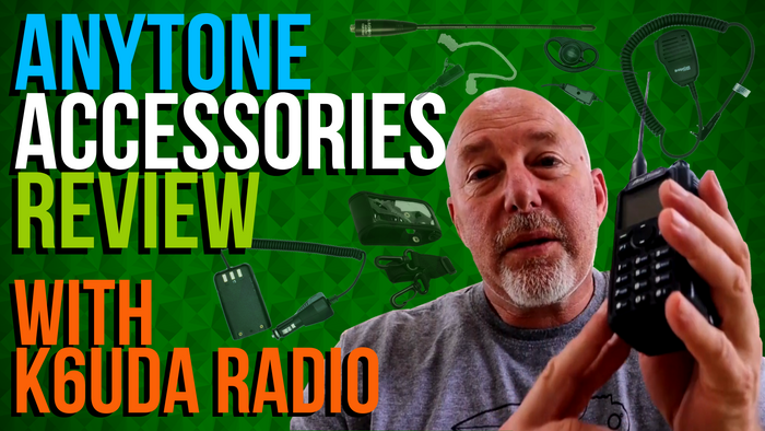 AnyTone Accessories Review with Bob, from K6UDA Radio