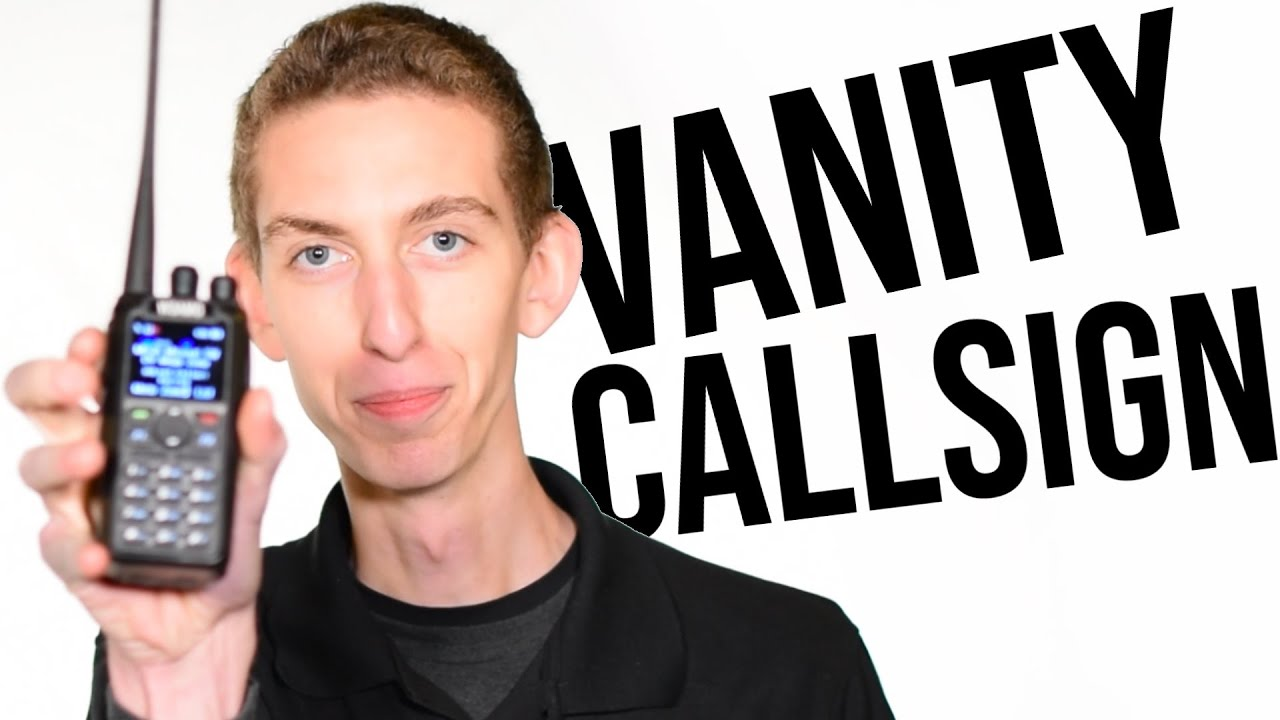 Check out Cody's New Vanity Callsign!