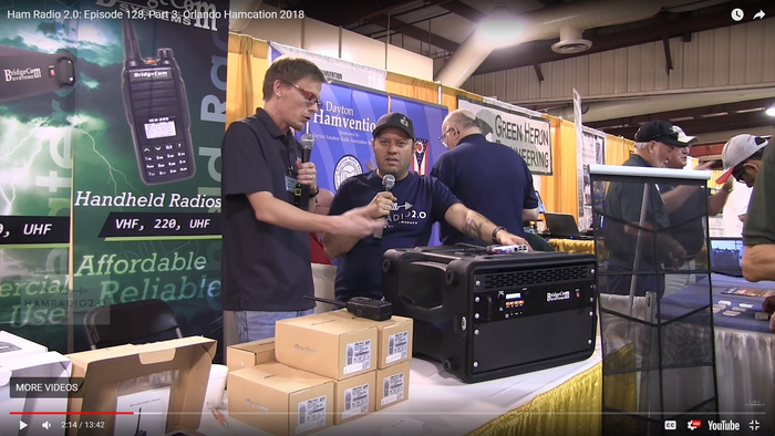 Ham Radio 2.0 Interviews Bridgecom Systems at Hamcation 2018