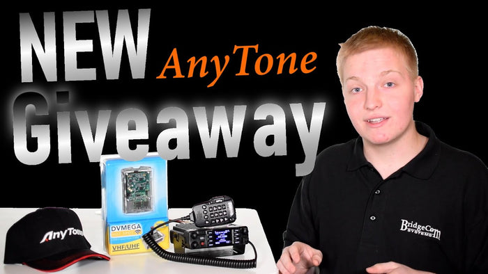 BridgeCom AnyTone Winter Giveaway Announcement