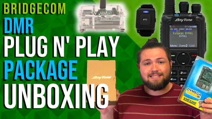 DMR Plug N' Play Package Unboxing