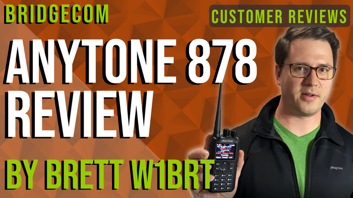 "Brett wanted a ""Do It All"" radio so he got the AnyTone 878"