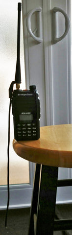 BCH-220 HT and Tiger Tail Antenna