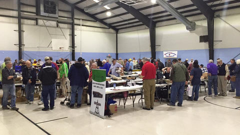 BridgeCom Systems booth at SouthSide Hamfest, Belton, MO