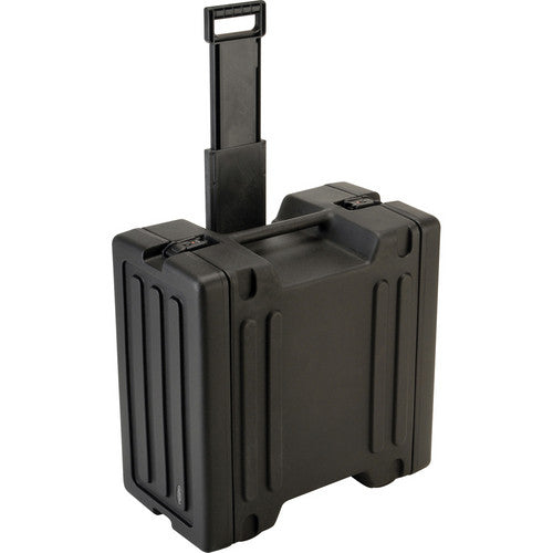 BridgeCom Systems 6U Rolling Rack Case