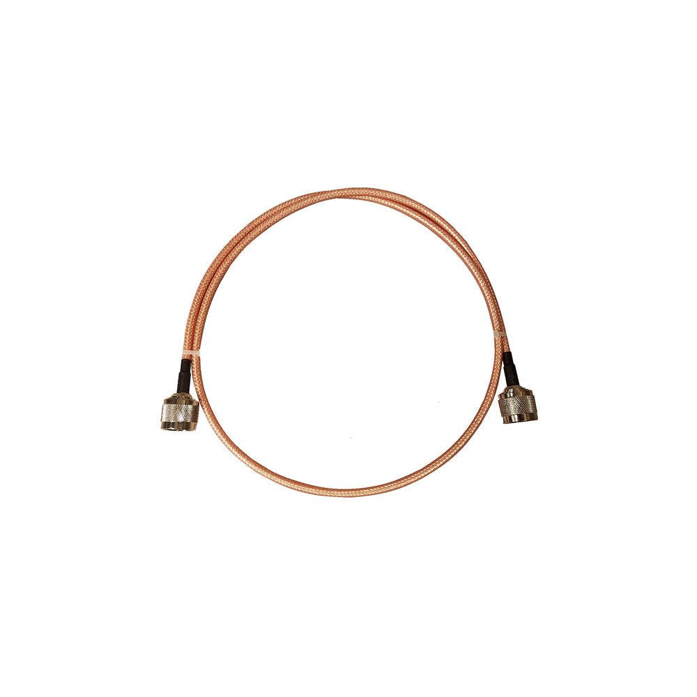 BridgeCom Systems 3'- RG142 N-Male to N-Male Jumper Cable