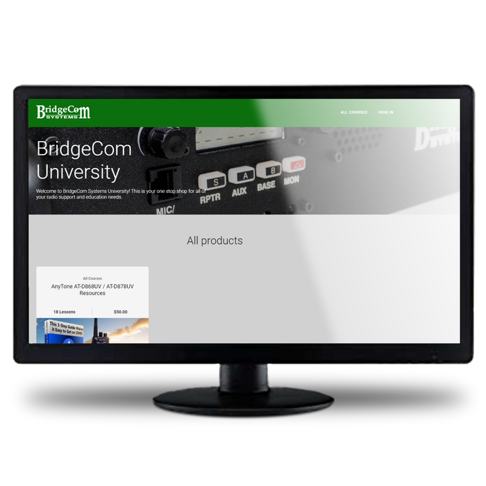 BridgeCom Systems AnyTone AT-D878UV Plus DMR Radio + Dual Band DVMEGA Hotspot Programmed Plug and Play Package
