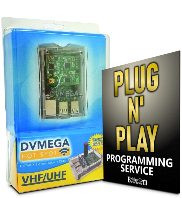 Plug and Play Dual Band DVMEGA with Pre-Programming (REQUIRES ANYTONE DMR RADIO WITH PURCHASE)