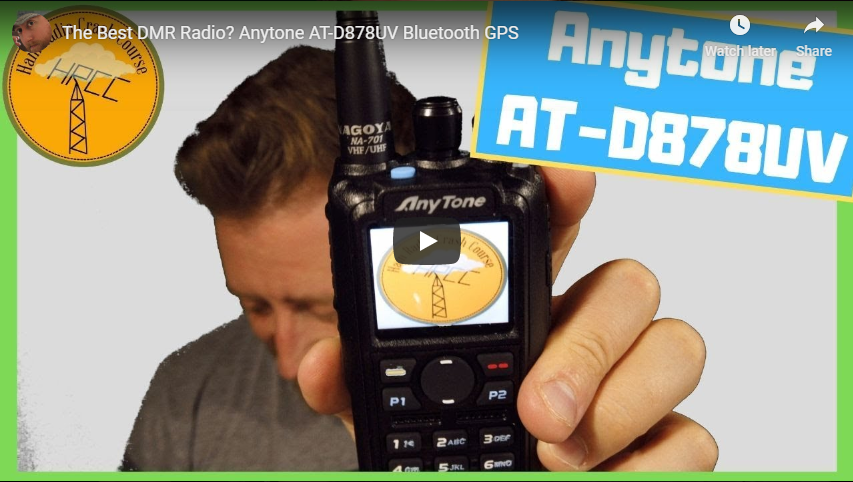 AnyTone AT-D878UV PLUS DMR Radio + Dual Band DVMEGA Hotspot Programmed Plug  and Play Package