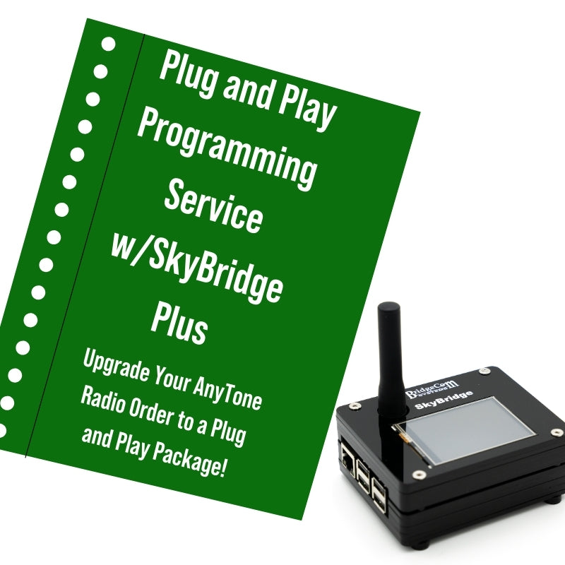 SkyBridge Plus Plug and Play Package Upgrade (Must Purchase with AnyTone Radio)