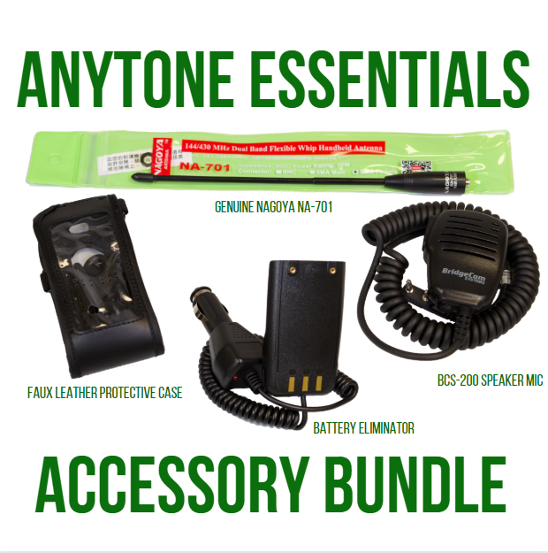 AnyTone Essentials Accessory Bundle
