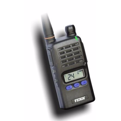 BridgeCom Systems Tekk Radio X-100u and X-100v Handheld Radios