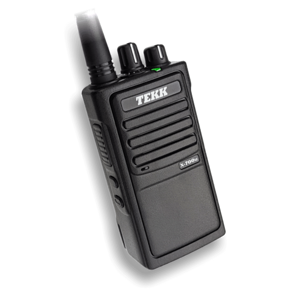 BridgeCom Systems Tekk X-700 Series Handheld Radio