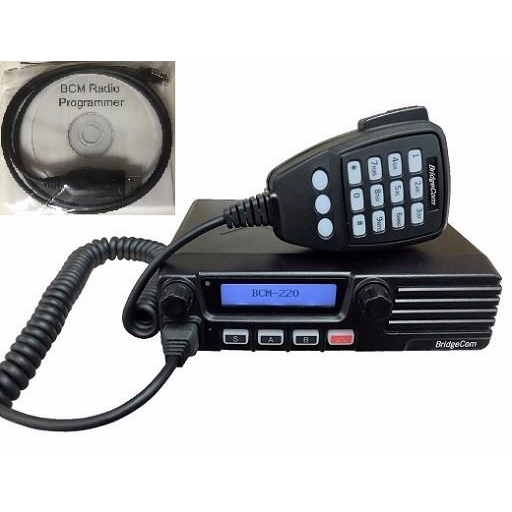 BridgeCom Systems BCM-220 1.25m Mobile Radio w/Programming Kit