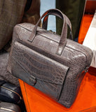 Bespoke Overnight Alligator Bag - Ascot Shoes