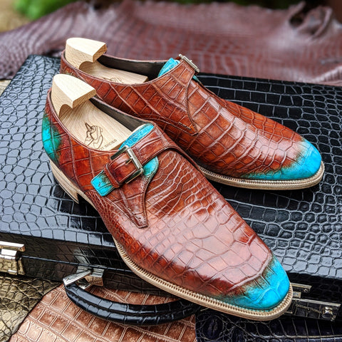 Ascot Monk Strap - Special Patina