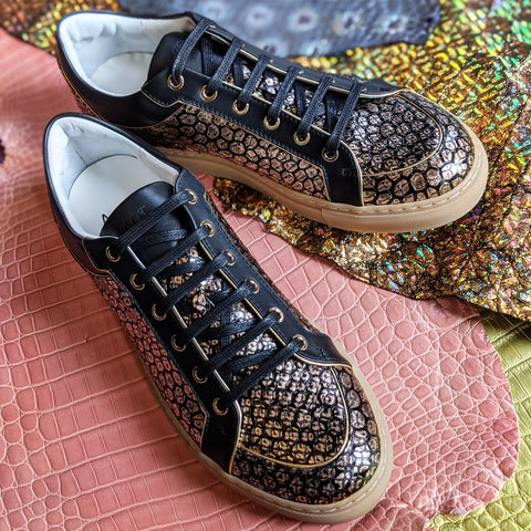 Ascot Sneakers - Gold Dust Python